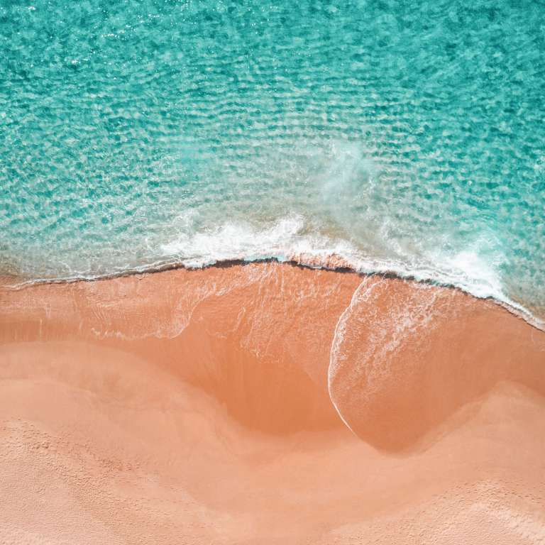 Ocean and sand