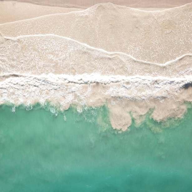沙灘和海洋